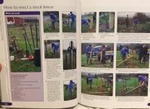 Erecting Stock Fencing